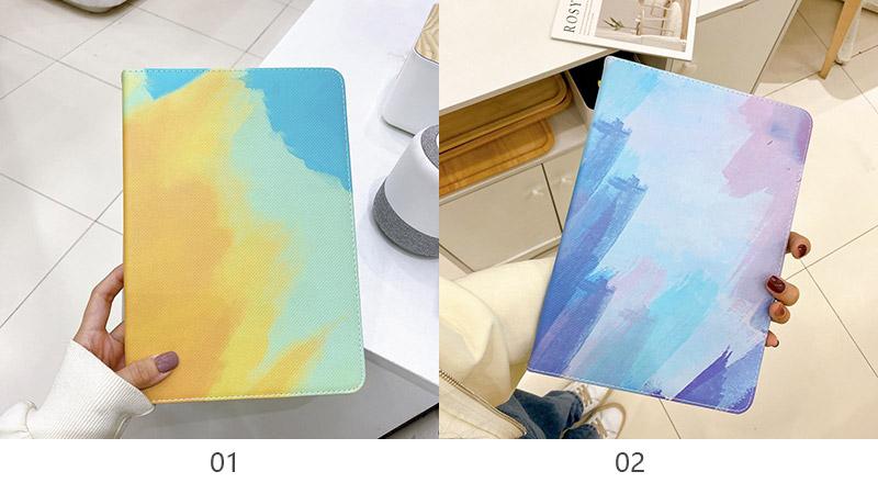 北欧风涂鸦mini1234/iPad5678皮套