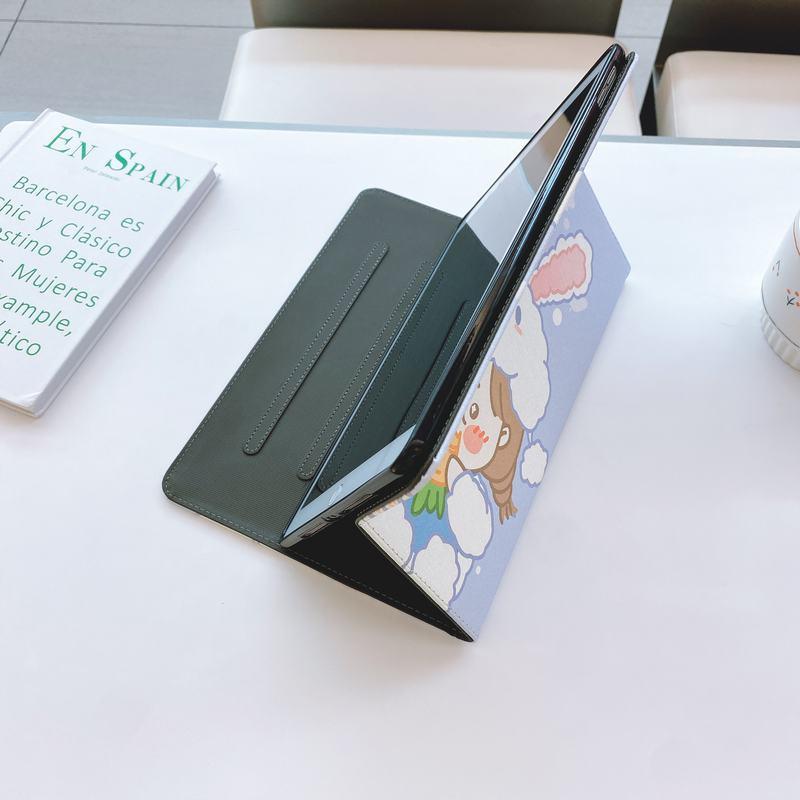 卡通胡萝卜兔子iPad2/3/4/5/6 iPadmini1/2/3/4/5