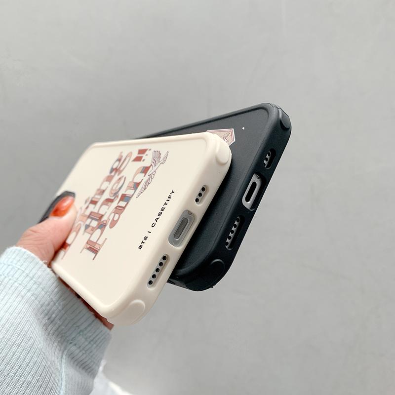 直边磨砂真空电渡精孔TPU-bts(i7-12ProMax)软壳