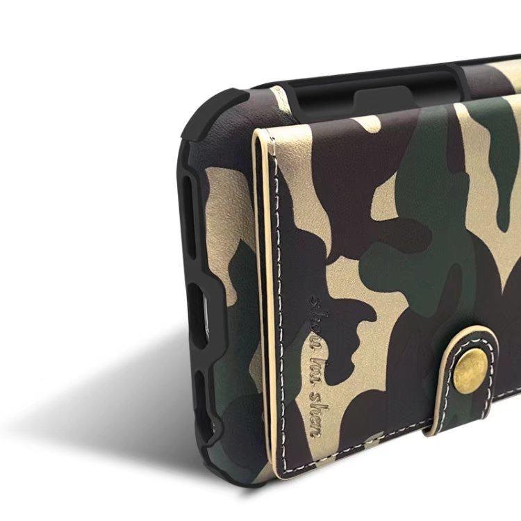 冰立方迷彩钱包款三星Note8/S8/S9/S8 PLUS软壳