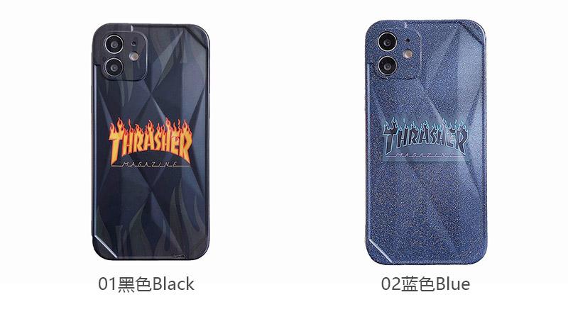 火焰字母直边苹果iPh7-iPhone12ProMax软壳