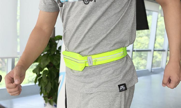 ROCK 运动腰包户外跑步多功能防盗手机贴身隐形小腰包夏季男女款